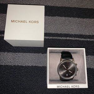 Michael Kors Watch Rose Gold Leather